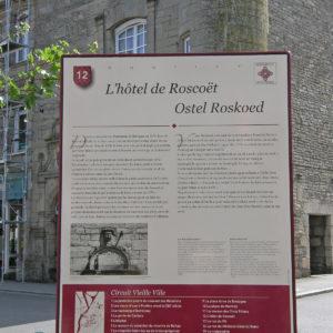 plaque-monument-historique-hotel-de-roscoet