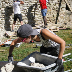 Séjours chantiers adolescents
