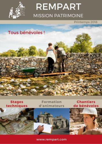 Catalogue printemps 2018