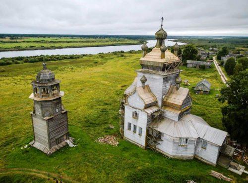 Chantier en Russie pour francophones