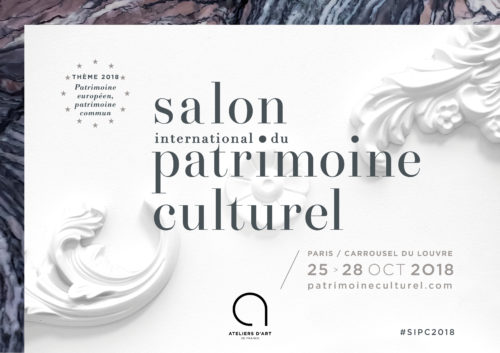 Salon du patrimoine 2018 - Save the date !