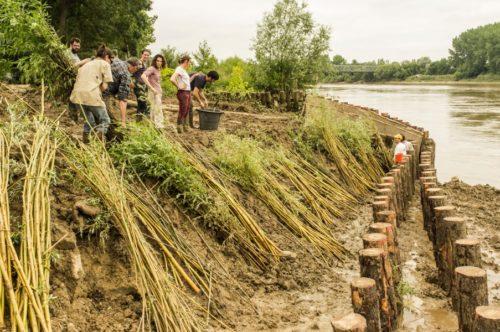 Des chantiers participatifs pour laménagement des berges de Garonne