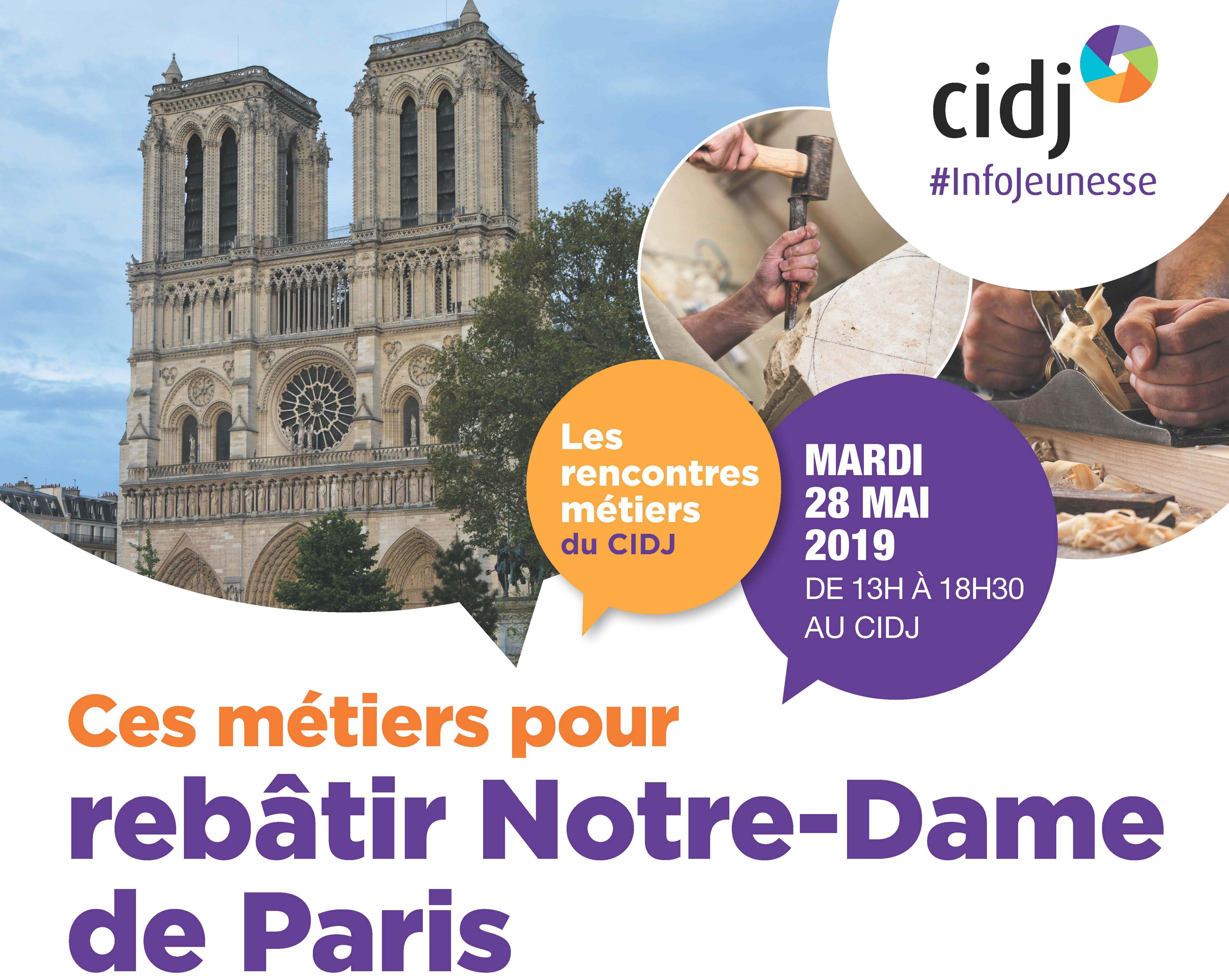 CIDJ_Rencontres metiers_AFFICHE A3_052019_NOTRE DAME_V2