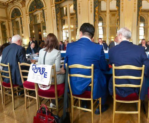 Intervention de REMPART devant les Ministres de la Culture européens