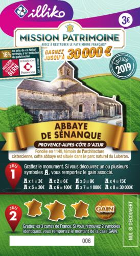 Mission Stéphane Bern : un nouveau ticket à gratter pour le patrimoine