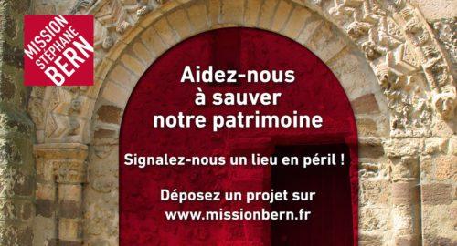 Sauvez le patrimoine avec Stéphane Bern