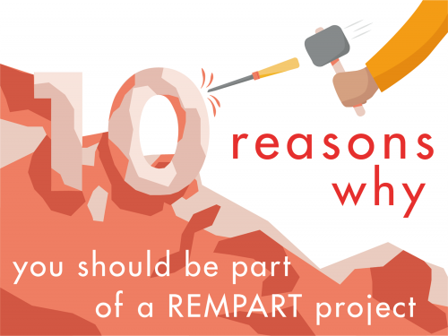 10 reasons why you should be part of a REMPART project