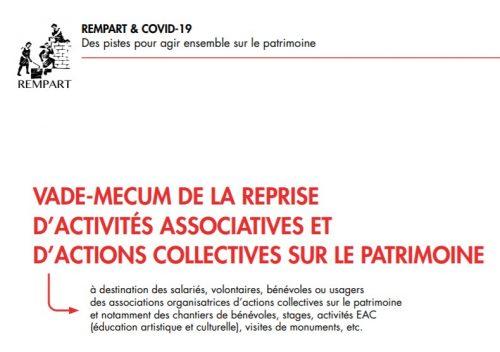 Vade-mecum : guide de protection contre la COVID-19