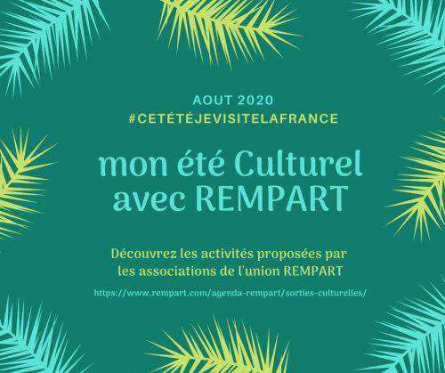 AGENDA CULTUREL ÉTÉ 2020 - Août