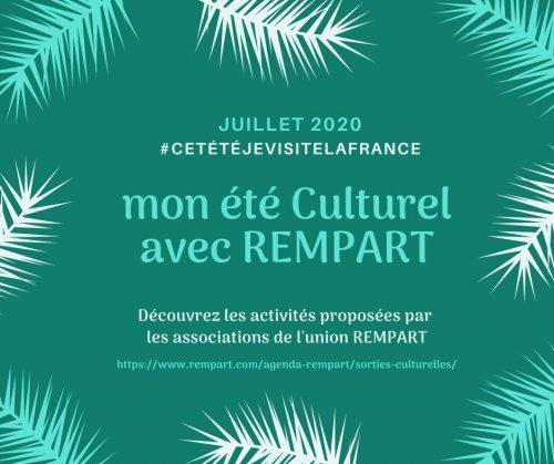 Agenda Culturel été 2020 - Juillet